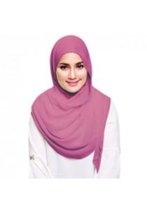 Hijab&Me - Fasha Sandha by Milyunir Instant Shawl Eadi (Dusty Rose)