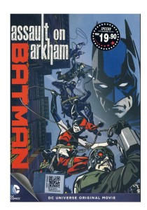 DVD Batman Assault On Arkham