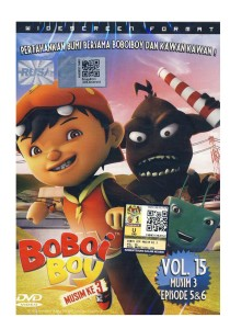 DVD Boboi Boy Musim Ketiga Vol 15