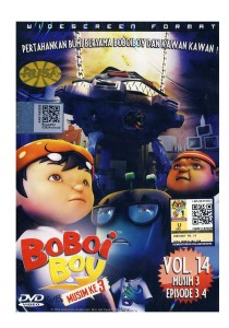 DVD Bo Boi Boy Vol: 14 Musim Ke 3 Episode 3 & 4