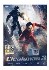 DVD Cicakman 3