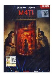 DVD Dendam Orang M4ti