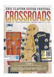 DVD Eric Clapton- Crossroads Guitar Festival