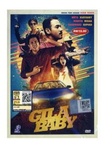 DVD Gila Baby