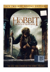 DVD Hobbit The Battle Of The Five Armies