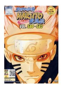 DVD Naruto Shippuden Vol: 580-583