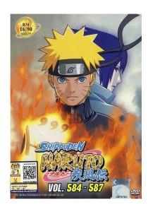 DVD Naruto Shippuden Vol: 584-587