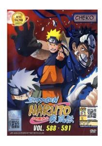 DVD Naruto Shippuden Vol: 588 591
