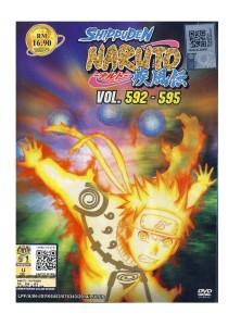 DVD Naruto Shippuden Vol 592 595