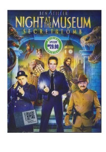 DVD Night At The Museum Secrete Of The Tomb