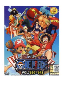 DVD One Piece Vol: 620 643