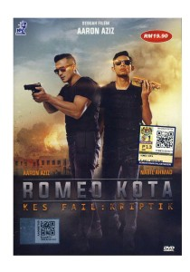 DVD Romeo Kota Kes Fail: Kriptik