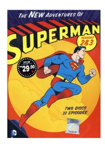 DVD The New Adventure Of Superman Seasons 2 & 3