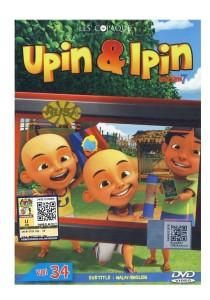 DVD Upin & Ipin Musim 7 Vol 34