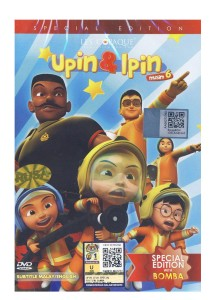 DVD Upin & Ipin Special Edition With Bomba Vol 6