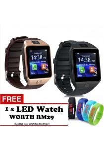 Smart Watches DZ09+ Bluetooth Digital Smart Wrist Watch