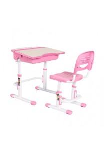 Health Ergo Study Desk & Chair Pharos C301 Pink