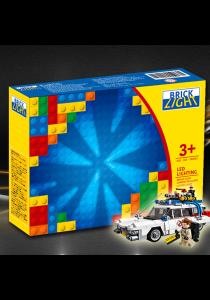 Brick Light - Ghostbusters Ecto-1 (21108) Lighting Kit