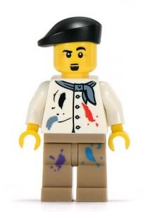 LEGO MINIFIGURE Series 4-14 Artist