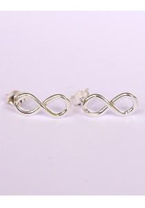 Cream By Val - Infinity Earrings