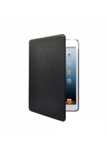 Kazee Ebony iPad Mini PU Leather Case Full Body - Black