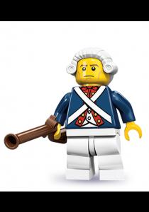 LEGO MINIFIGURE Series 10-12 Revolutionary Soldier
