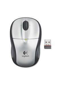 Logitech M325 Wireless Mouse (Light Silver)