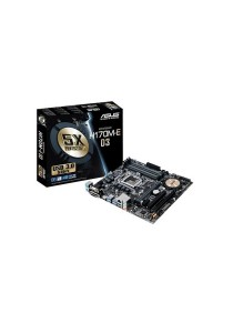 ASUS Motherboard H170M-E D3 LGA1151 Socket USB 3.0