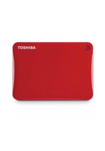 Toshiba Canvio Connect II V8 1TB External HDD HDTC810AR3A1 (Red)