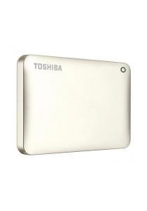 Toshiba Canvio Connect II V8 2TB External HDD HDTC820AC3C1 (Satin Gold)