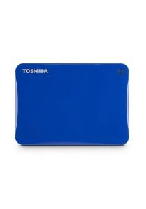 Toshiba Canvio Connect II V8 2TB External HDD HDTC820AL3C1 (Blue)