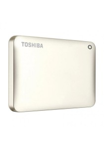 Toshiba Canvio Connect II V8 3TB External HDD HDTC820AC3C1 Original (Satin Gold)