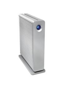 Lacie External Hard Drive 1TB d2 Quadra USB2.0/Firewire400/Firewire 800/eSata (White)