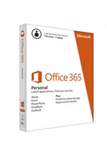 Microsoft Office 365 Personal (1 user for PC/Mac, Tablet & Phone)