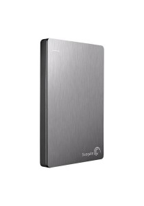 Seagate External Hard Disk Backup Plus Slim 1TB (STDR1000301) Silver
