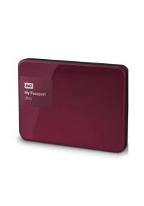 Western Digital My Passport Ultra Portable External Hard Drive 2.5 Inch 1TB USB 3.0 (Berry)