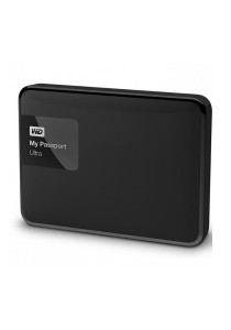 Western Digital My Passport Ultra Portable External Hard Drive 2.5 Inch 2TB USB 3.0 (Black)