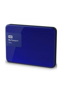 Western Digital My Passport Ultra Portable External Hard Drive 2.5 Inch 2TB USB 3.0 (Blue)