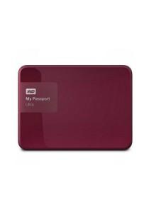 Western Digital My Passport Ultra Portable External Hard Drive 2.5 Inch 2TB USB 3.0 (Berry)
