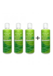 *Buy 3 Free 1* Ecoherbs NeemCare Scalp Rejuvenation Shampoo Hair Care For Hair Care Treating Premature Dry, Straight & Soft Hair