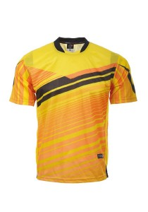 Dye Sublimation Jersey EDR 02 (Yellow)