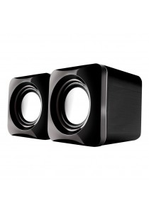 AudioBox U-Cube USB Powered 2.0 Speakers-Grey