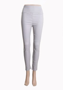 Su.soku Fancy Ankle Leggings - Grey