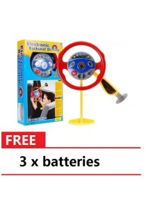 Electronic Backseat Driver Steerling With Light and Sound + 3 Pcs Batteries