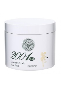 Elence 2001 Plus Green Tea Intensive Scalp Hair Treatment 240g for Promoting Hair Growth and Minimizing Hair Loss