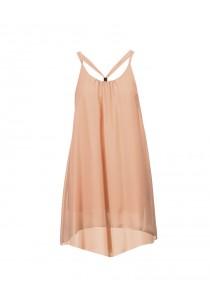 Bareback Dress / Bikini Wrap (Orange)