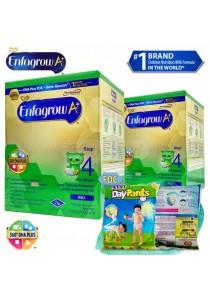 Enfagrow A+ Step 4 1.8kg (2packs) - Original + FOC 3 packs Petpet DayPants Sample (random size)