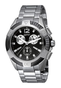 Esprit Full Activity Black Men Watch ES100461001