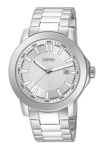 ESPRIT Moon Ray Pure Silver Stainless Steel Gent Watch ES101851009