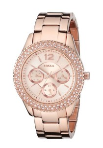 Fossil Women's ES3590 Stella Multifunction Stainless Steel Watch (Rose Gold-Tone)